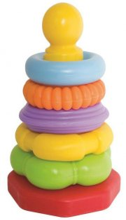 abc stabeltårn i plastik - Babylegetøj