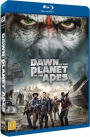 dawn of the planet of the apes / abernes planet: revolutionen - Blu-Ray