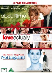 love actually // notting hill // about time - DVD