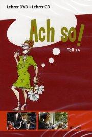 ach so! teil 2a, lehrer dvd/cd - bog