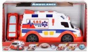 legetøjs ambulance med lys og lyd - 30 cm - Køretøjer Og Fly