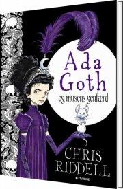 ada goth og musens genfærd - bog