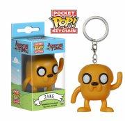 adventure time: jake - pocket pop nøglering - funko - Merchandise