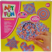 stryge perler multifarvede - over 1.000 stk - Kreativitet