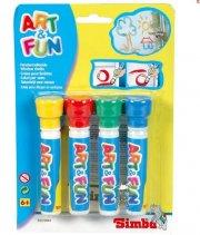 vinduesmaling til børn - 4 stk - Kreativitet