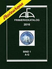 afa frimærkekatalog 2016 - vesteuropa bind 1 - a-g - bog