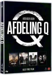afdeling q film 1-4 boks - DVD