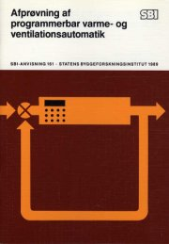 afprøvning af programmerbar varme- og ventilationsautomatik - bog