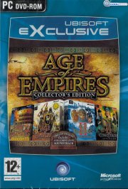 age of empires - collectors edition - dk - PC