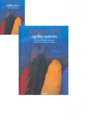 ahajute og sky-æderen - bog