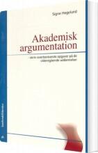akademisk argumentation - bog
