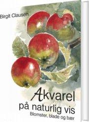 akvarel på naturlig vis - bog