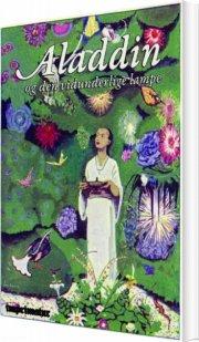 aladdin og den vidunderlige lampe - bog