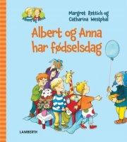 albert og anna har fødselsdag - bog