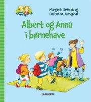 albert og anna i børnehave - bog