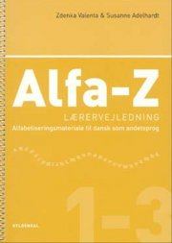 alfa-z 1-3 lærervejledning - bog