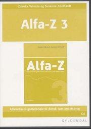 alfa-z 3 lærer-cd - bog
