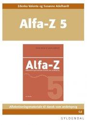 alfa-z 5 lærer-cd - bog