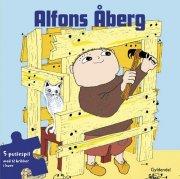 alfons åberg bog og puslespil - bog