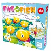alga spil - five little fish - Brætspil