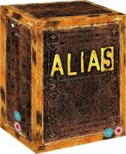 alias - sæson 1-5 - the complete series - DVD