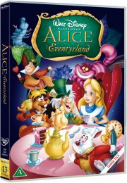 alice in wonderland / alice i eventyrland - 60 års jubilæumsudgave - disney - DVD