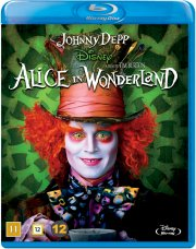 alice in wonderland / alice i eventyrland - johnny depp - disney - Blu-Ray
