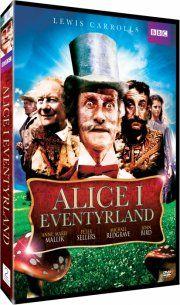 alice in wonderland / alice i eventyrland - bbc - DVD