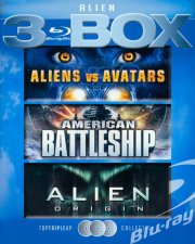 aliens vs avatars // alien origin // american battleship - Blu-Ray