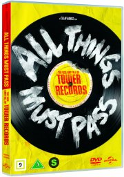 all things must pass: the rise and fall of tower records - DVD