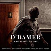 allan olsen - d' damer & allan olsen * live - cd
