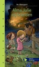 alma, julie og branden - bog