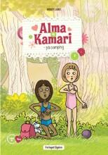 alma og kamari på camping - bog