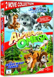 alpha and omega 2: a howl-iday adventure // alpha and omega 3: the great wolf games - DVD
