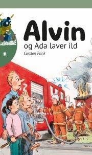alvin og ada laver ild - bog