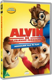 alvin og de frække jordegern 1-4 / alvin and the chipmunks 1-4 - DVD