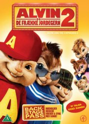 alvin og de frække jordegern 2 / alvin and the chipmunks 2 - DVD
