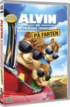 alvin og de frække jordegern 4 - på farten - DVD