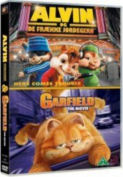 alvin og de frække jordegern // garfield the movie - DVD