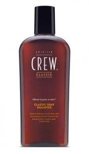 american crew shampoo til gråt hår - classic gray shampoo - 250 ml. - Hårpleje