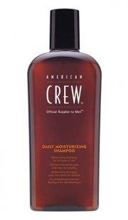 american crew daily moisturizing shampoo - 250 ml. - Hårpleje