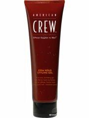 american crew firm hold styling gel - 100 ml. - Hårpleje