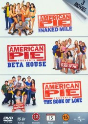 Image of   American Pie The Naked Mile // Beta House // The Book Of Love - American Pie 5-7 - DVD - Film