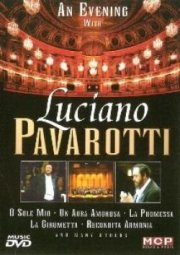 an evening with lucianao pavarotti - DVD