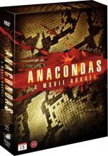 anaconda film boks - anaconda 1 // anaconda 2 // anaconda 3 // anaconda 4 - DVD