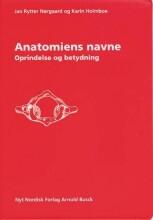 anatomiens navne - bog