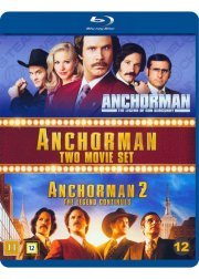 anchorman - the legend of ron burgundy // anchorman 2 - the legend continues - Blu-Ray