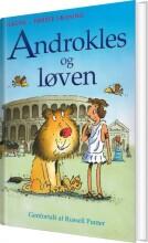 androkles og løven - bog