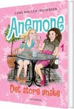 anemone 1 - det store ønske - bog