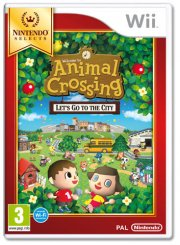 animal crossing: lets go to the city (selects) - wii